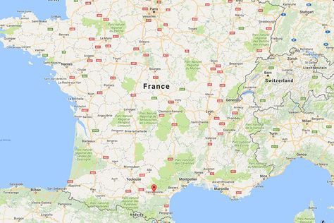 Map Of France Carcassonne.Top 10 Punto Medio Noticias Map Of Carcassonne Area France