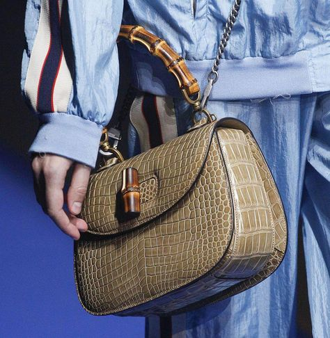 99a8f960b654 Gucci Went Back to the Future with an 80s-Themed Handbag Spectacular on Its  Spring