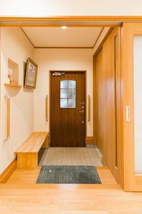 価格 Com 木製輸入断熱玄関ドアであたたか玄関 玄関のリフォーム