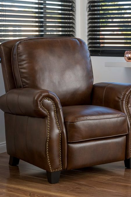 Lansing Upholstered Recliner Recliner Chair Faux Leather Chair