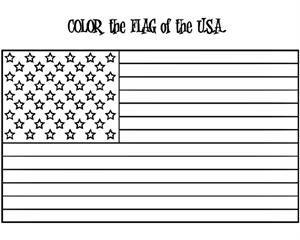 """""""color the american symbols"""" free patriotic printable"""