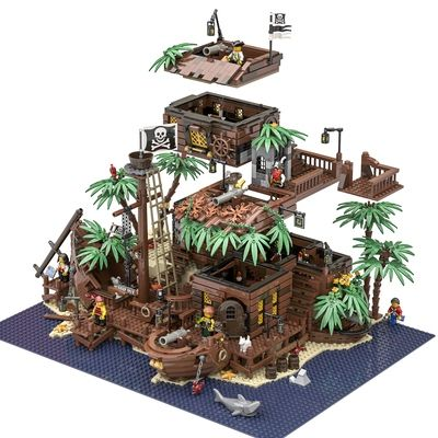 Thepiratebay Halloween 2020 The Pirate Bay in 2020   Lego pirate ship, Pirate lego, Cool lego