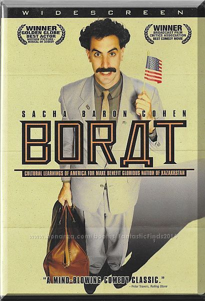 Outrageous Situations Occur When Borat A Popular Reporter From Kazakhstan Comes To The United States To Film A Doc Sacha Baron Cohen Best Actor Comedy Movies