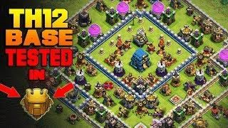 Clash Of Clans - TOWN HALL 12 (TH12) BASE w/ PROOF Trophy