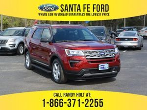 2018 Ruby Red Metallic Tinted Clearcoat Ford Explorer Xlt 380171