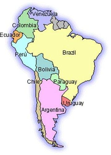 Mapa Politico De Sudamerica.Mapa De Sudamerica En 2019 Mapa De America Mapa De
