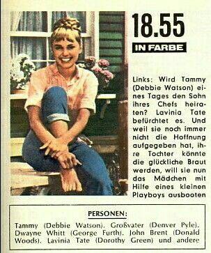 Tammy Das Madchen Auf Dem Hausboot Fernsehserie Alte Filme Kindheitserinnerungen