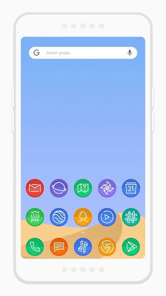 Dream Shell ~ S8 Note8 Icon Pack v220iat PatchedRequirements - fresh periodic table theme apk