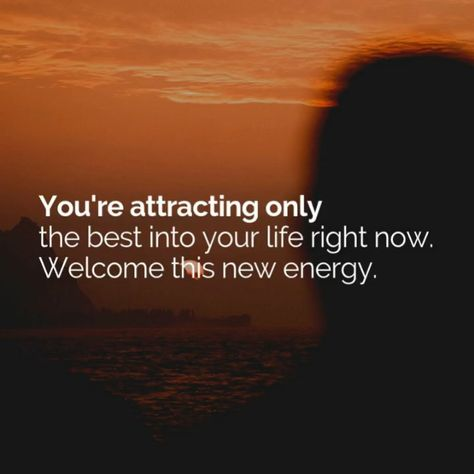 Make sure you're attracting the good stuff. #lawofattraction