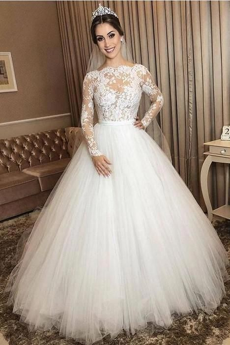Weddingdresssparklelace In 2020 Bridal Dresses Ball Gowns