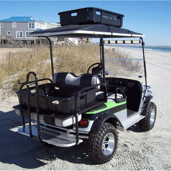Need Some Hauling Solutions For Your Golf Cart? Try This Cargo Caddie To  Keep Your Stuff From Falling Out Or Rolling All Around.