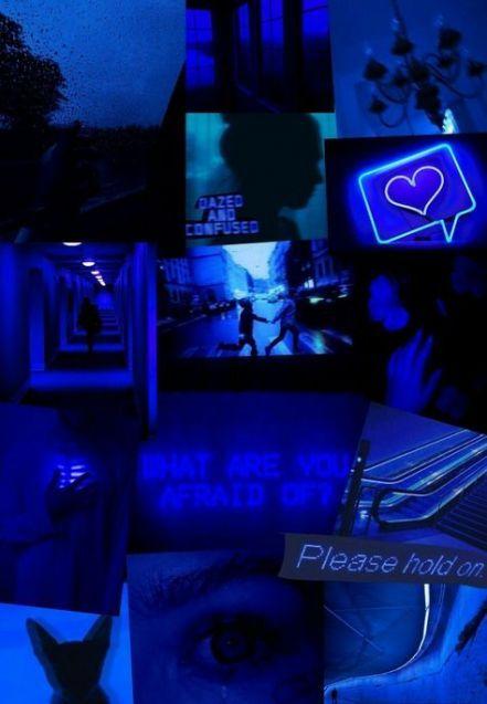 Depressing Image By Zubi Blue Aesthetic Dark Blue Wallpaper