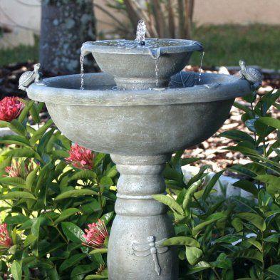 b92478526f8695c57ab5b3399814be72 - Smart Solar Gardens 2 Tier Solar On Demand Fountain