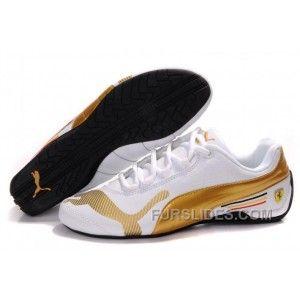 tenis puma hombre gold