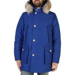 Woolrich Artic Parka Wocps2880 Electricblue Blau Xxl Woolrich In 2020 Anorak Jacke Jacke Mit Fell Beige Herren