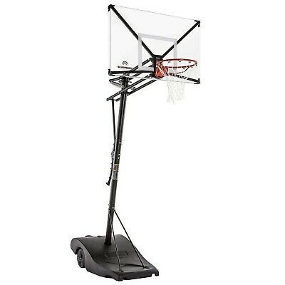Advertisement Ebay Goalrilla Silverback Nxt 54 Portable Basketball Hoop Local Pickup Only In 2020 Adjustable Basketball Hoop Portable Basketball Hoop Basketball Hoop