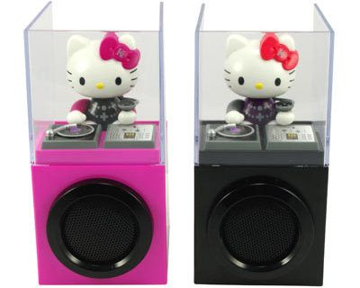 Hello Kitty DJ iPod speakers
