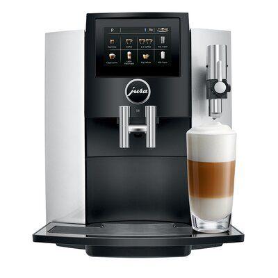 Jura Jura S8 Color Moonlight Silver Automatic Coffee Machine Coffee Machine Espresso Machine