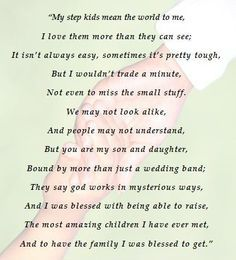 I Love My Step Kids Quotes Parenthood(step and adoptive included) on pinterest  mothers