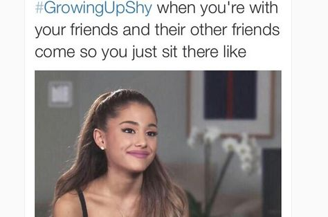 Ariana Grande memes that will make you laugh out loud Shy People Problems, Girl Problems, Funny Relatable Memes, Funny Quotes, Humor Quotes, Funny Humor, Wisdom Quotes, Funny Shit, Motivational Quotes