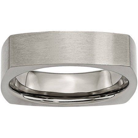 Perfect Jewelry Gift 14KW 3mm LTW Flat Band Size 6