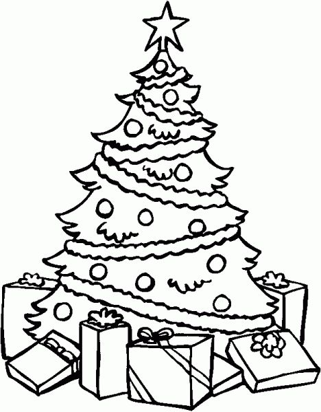Drawn Christmas Lights Easy Draw 21 468 X 600 Dumielauxepices Net Merry Christmas Coloring Pages Christmas Coloring Pages Christmas Tree Coloring Page