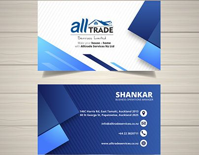 Check Out New Work On My Behance Portfolio All Trade Redesing Business Card Http Be Free Business Card Templates Vector Business Card Free Business Cards