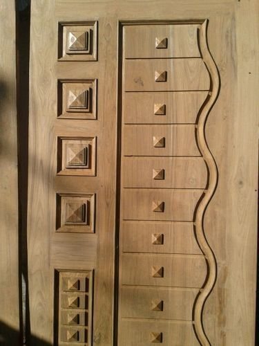 Designer Teak Wood Door At Rs 11000 Pieces L B Nagar Teak Wood Door Design Door Design Wood Single Door Design Wooden Doors