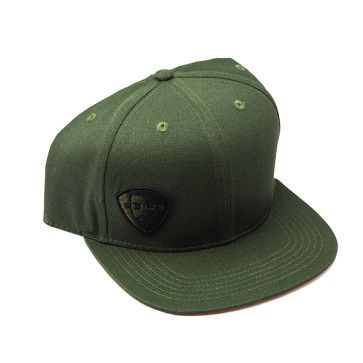 Die GØLD s Snapback Cap Olive Green Orange packt eine herrlich markante  Farbkombination aus 06d0e5b472e
