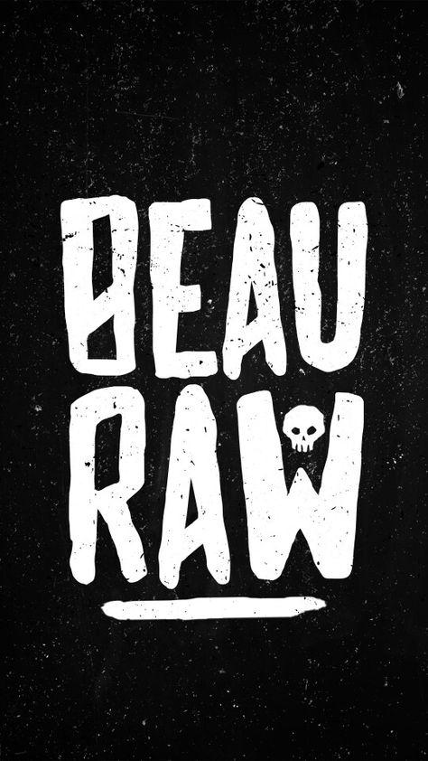 BEAURAW - Punk Logo