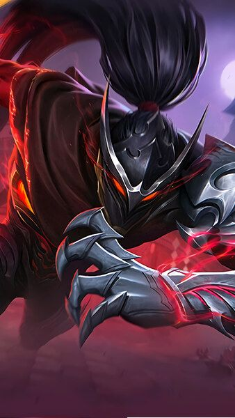 Hayabusa Shadow Of Obscurity Skin Mobile Legends 4k Hd Mobile