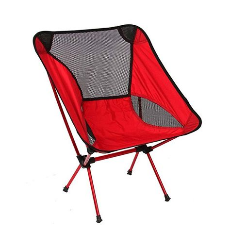 Elegant folding design 300 pound capacity Chair height Sitting Comfort USA Made Camp Time Jumbo Stool 1.6 pounds with shoulder strap