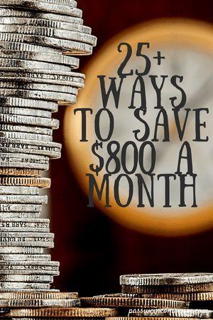 25+ Ways To Save Money - The Saving Challenge