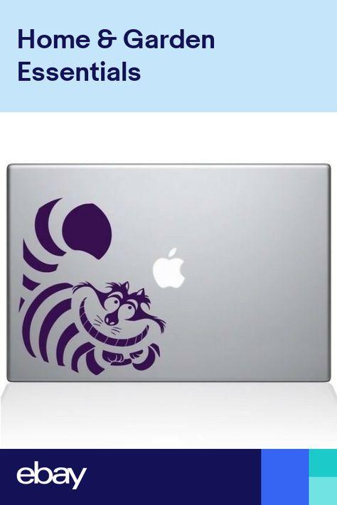 Vinyl Decal Sticker Laptop Car Alice in Wonderland Cheshire Cat Macbook Funny