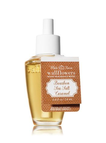 Bourbon Sea Salt Caramel Wallflowers Fragrance Refill Bath And Body Works Fragrance Bath And Body Works Perfume Bottles