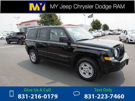 2013 *Jeep*  *Patriot* *Sport*  53k miles $11,999 53704 miles 831-216-0179 Transmission: Automatic  #Jeep #Patriot #used #cars #MyJeepChryslerDodge #Salinas #CA #tapcars