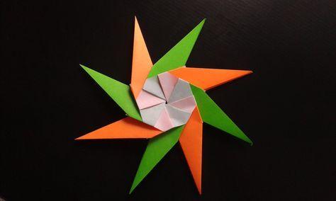 Origami Christmas Star. Easy paper star.   Christmas origami ...   284x474