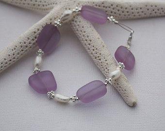 Sea Glass Necklace Seaglass Necklace Sea Glass Jewelry Beach | Etsy