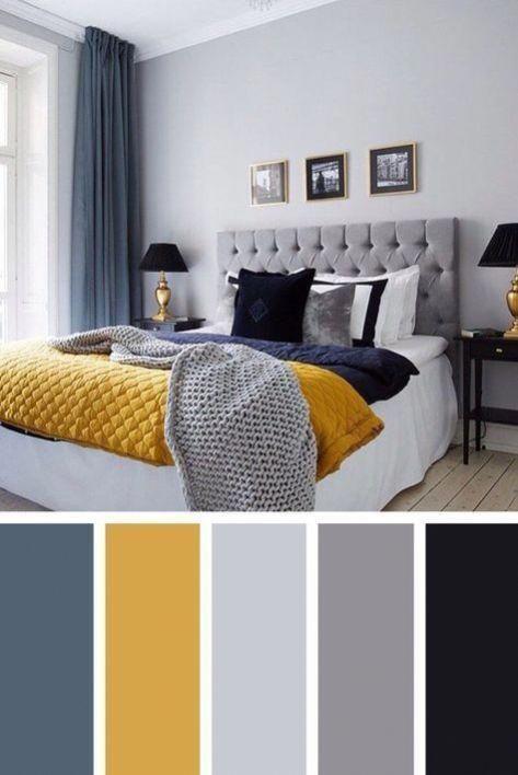 Colour Schemes Home Interior Design Interior Design En 2020 Couleur Chambre Decor Chambre A Coucher Deco Chambre Sous Comble