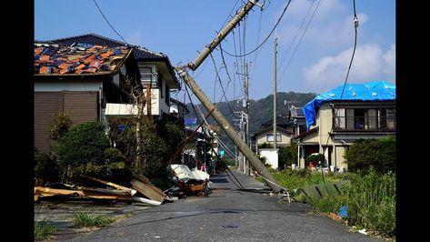 台風15号で深刻な被害 停電続く千葉県鋸南町の住民のいま - YouTube