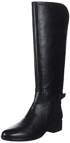 Geox D Felicity B Bottes Hautes Femme Noir (Black C9999) 39