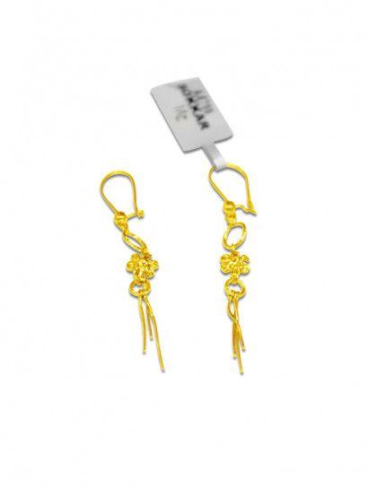 حلق ذهب عيار 18 حلق دبلة شكل وردة ذهب عيار 18 وان سايز خصم 10 على المصنعية Keychain Personalized Items Person