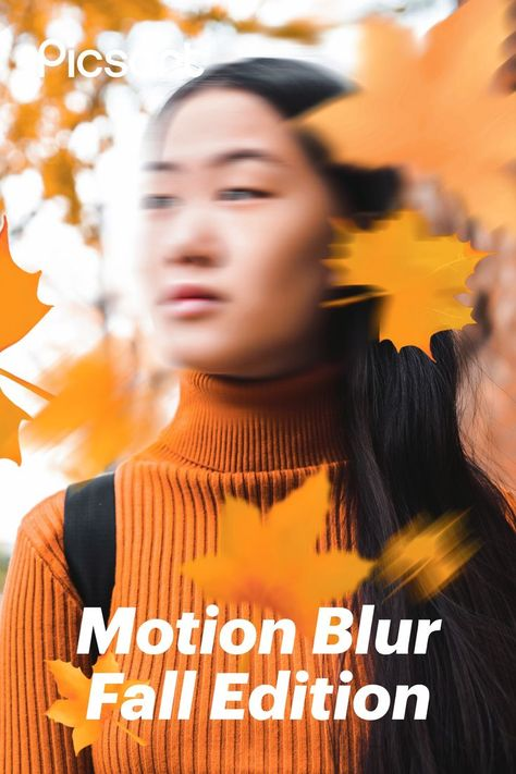 Search for Fall Leaf Stickers on Picsart to add the perfect sprinkle of fall your fall photography in seconds 🍁 Apply Motion Blur to give it an edge!