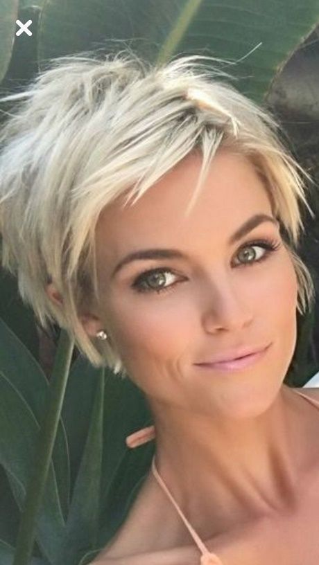 2018 blond kurzhaarfrisur frauen Frisuren Damen