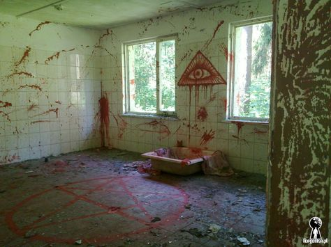 The place of satanic ritual