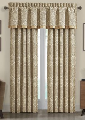 J Queen New York Sardinia Valance In 2021 Drapery Panels Custom Drapes Drapes Curtains