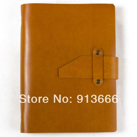 Simple Classic Handmade Genuine Leather Notebook Refillable with Strap Loose Leaf Binder Blank craft Paper A5 Light Brown Gift-in Notebooks from Office & School Supplies on Aliexpress.com | Alibaba Group