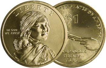 "2010 P Sacagawea Native American Dollar US Mint Coin /""Brilliant Uncirculated/"""