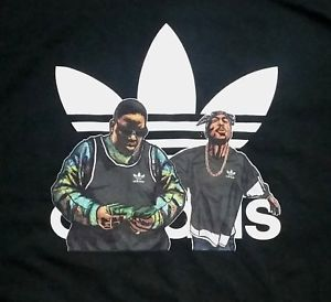 adidas t shirt 2pac