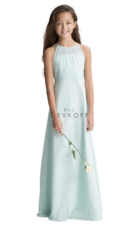Pleated,Straps Style 47 Junior Bridesmaid Dress by Alexia Designs ...